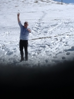 Giano dell'Umbria: Angelo nella neve umbra